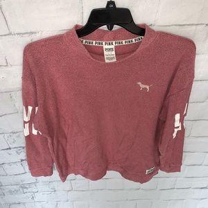 PINK Victoria's Secret Sweaters - Victoria's Secret Pink Womens Crewneck Sweatshirt